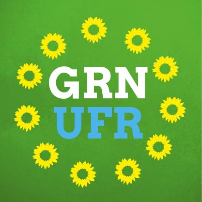 Logo Grüne Unterfranken rund