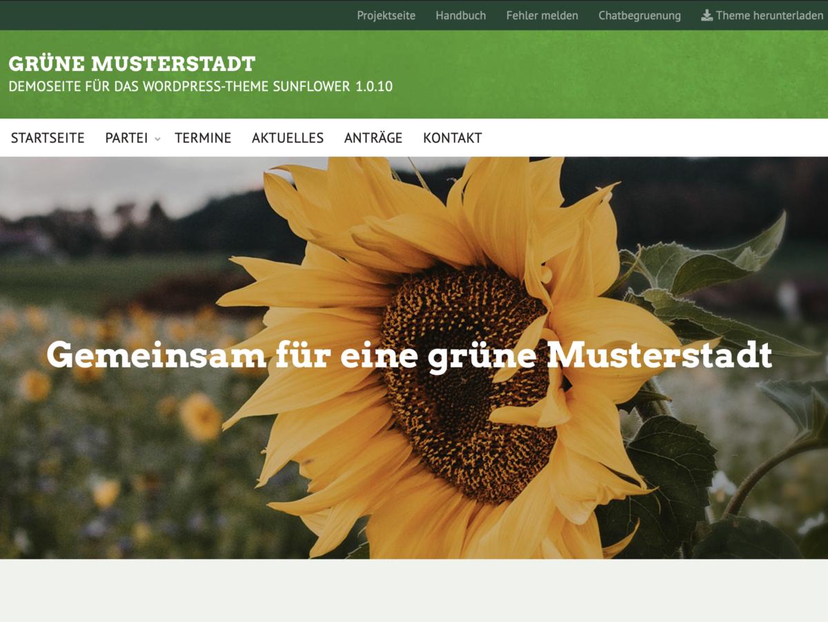 Screenshot Sunflower
