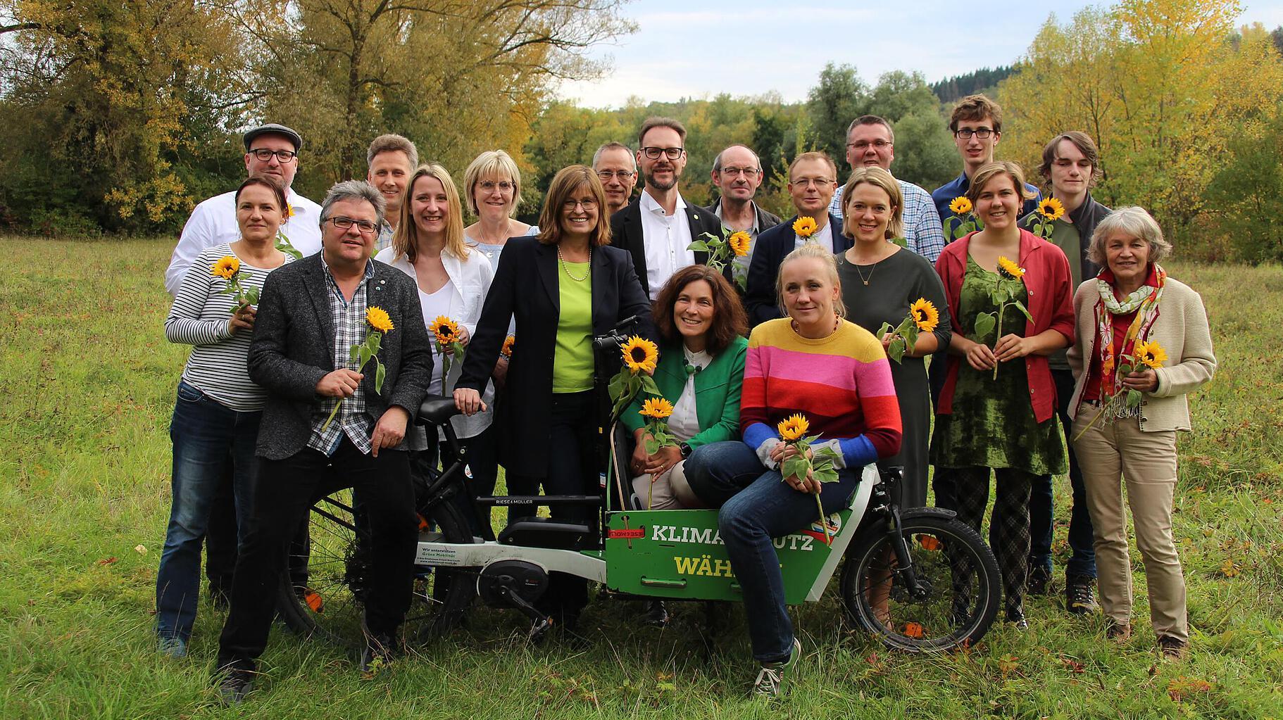 Gruppenbild der Kreistagsfraktion Würzburg-Land