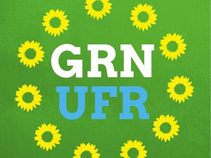Logo Grüne Unterfranken Social Media